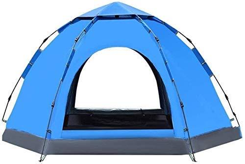 Totalmente automática Tienda al Aire Libre Hexagonal Camping, Adecuado for Viajes de Acampada de la Playa a Prueba de Viento e Impermeable Parasol, 270times; 270times; 150 CM kshu