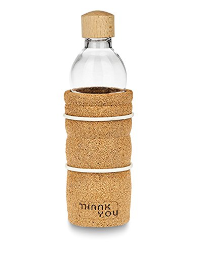 Natures-Design Trinkflasche Thank You 0,5 Liter