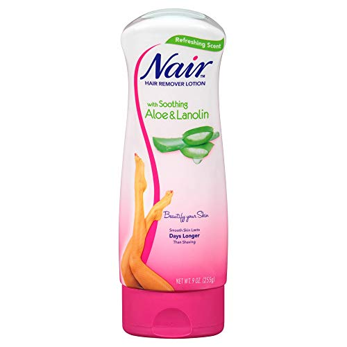 Nair Hair Removal Lotion - Aloe & Lanolin - 9 oz - 2 pk by Nair