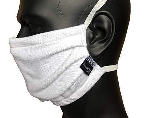 Trigema Behelfs-Mund-Nase-Maske - wiederverwendbar/waschbar - Baumwolle