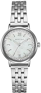 MESTIGE Womens Quartz Watch, Analog Display and Stainless Steel Strap MSWA3157