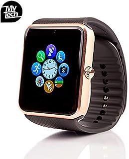 Smartwatch MyTECH G Reloj Inteligente con Camara Bluetooth C