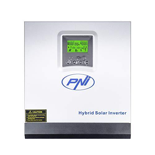 Solar Wechselrichter PNI GreenHouse SC1800B 3 KW 24 V 60A MPPT Off Grid Hybrid Sinus Pure