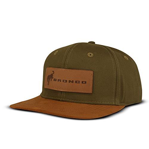 Ford Bronco Baseball Cap, Adjustable 6 Panel Flat Brim Cap, Buckle and Grommet...