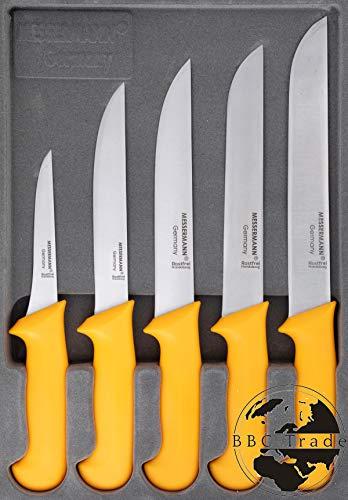 Fleischmesser Set 5er Box Fleischermesser, Stechmesser, Ausbeinmesser