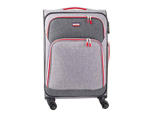 Franky Spinner T1S-DR Suitcase Travel Luggage Size M 69 cm Grey Sports