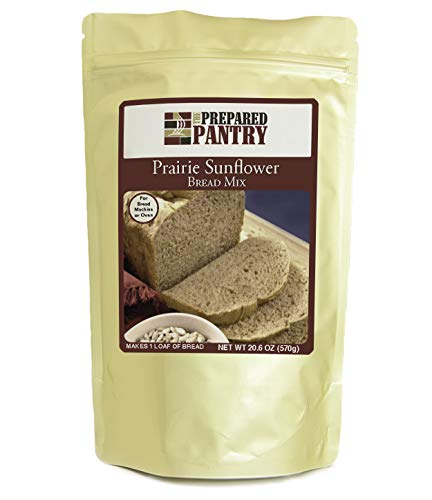 The Prepared Pantry Prairie Sunflower Gourmet Bread Mix; Single Pack; For Bread Machine or Oven