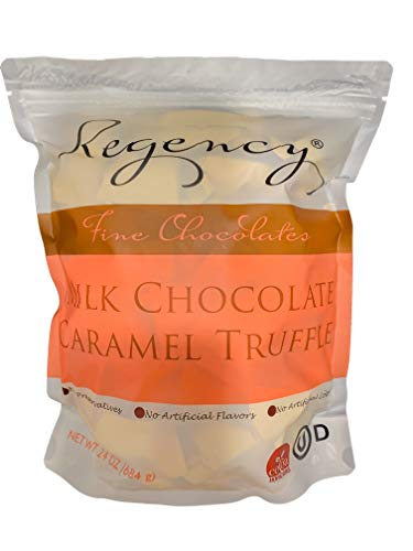 Regency Fine Chocolate Truffles, Milk Chocolate Caramel with Sea Salt, 60 Count