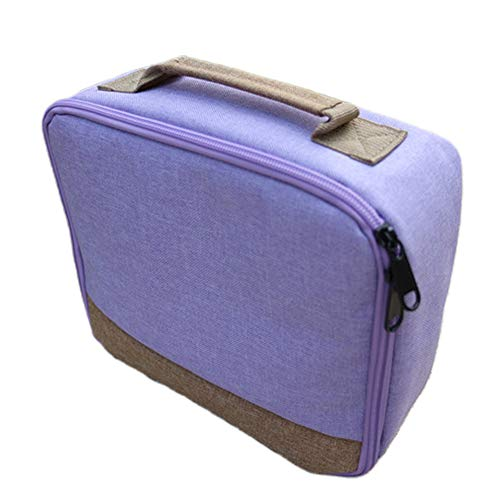 58bh Shockproof Carrying Case Storage Travel Bag for Canon Selphy CP1200 / CP1300 Wireless Color Photo Printer Portable Protective Pouch Box - 25 X 21.5 X 9cm - 5 Colors