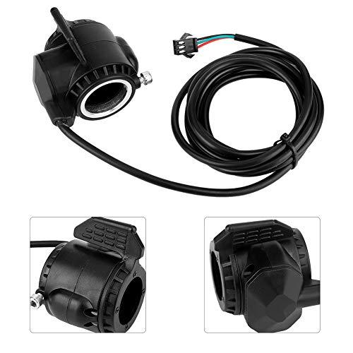 Changor Trotones de Scooter adecuados, palancas de Freno Hechas de Cable de Cable de plástico para Bicicleta eléctrica con Manillar de 22,5 mm (Negro)