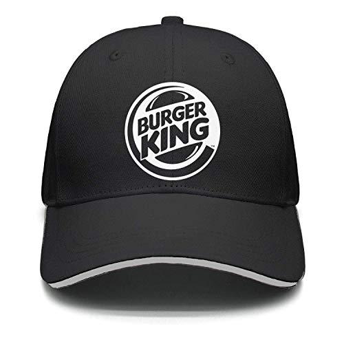 Adjustable Unisex Burger-King-Logo- Cap Cute Snapback Hat