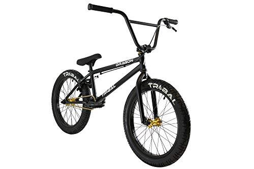 BMX Bikes Tribal Dragon BMX Bike – Matte Black [tag]
