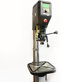 VULCAN DVR METAL WORKING VARIABLE SPEED DRILL PRESS WITH HYBRID MILL FUNCTION