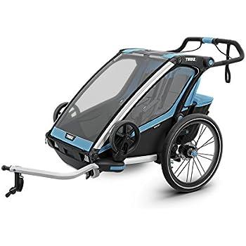 Thule Unisex Erwachsene Chariot Sport2 Blau Fahrradanhanger