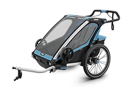 Thule Unisex– Erwachsene Chariot Sport2, Blau Fahrradanhänger, Blu, Einheitsgröße
