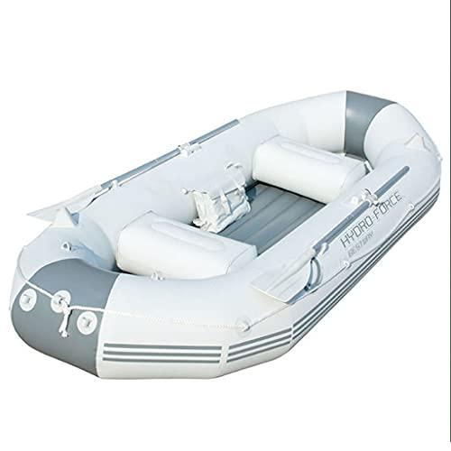 ZXQZ Kayak Kayak Inflable, Bote Inflable Extragrueso para Tres Personas con Paleta de Aleación de Aluminio, Pesca Sentado En Kayaks