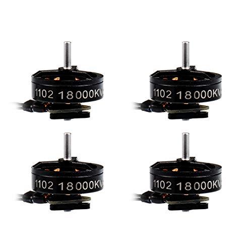 BETAFPV 4pcs 1102 18000KV Brushless Motor 1S FPV Motor for 1S Brushless Micro Whoop Drone Like Meteor75 1S Brushless FPV Micro Drone