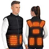 ISOPHO Chaleco Calefactable, Chaleco Termico electrico Chaleco plumas hombres y mujeres, chaquetas...