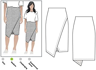 Style Arc Sewing Pattern - Halle Stretch Skirt (Sizes 04-16) - Click for Other Sizes Available