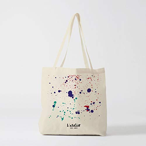 Borsa compiti di pittura tela borsetta borsa da spalla Borsa fasciatoio borsa per computer pane borsa borsa Graphics