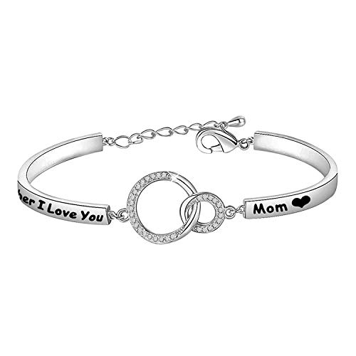 Zuo Bao Mothers Bracelets Mothers Jewelry Remember I Love You MOM Gift Mum Mommy Mama from Son Daughter
