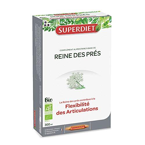 SuperDiet Reine des Près Bio Richesse minérale 20 ampoules de 15ml soit 300ml
