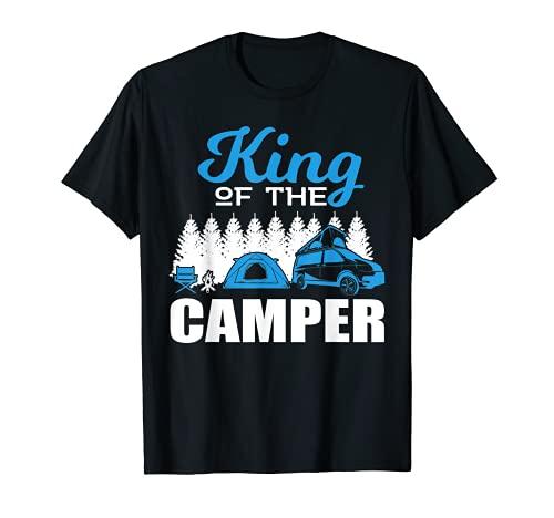 Campen Wohnmobil T-Shirt Natur und Reisen Reisemobil Camper T-Shirt