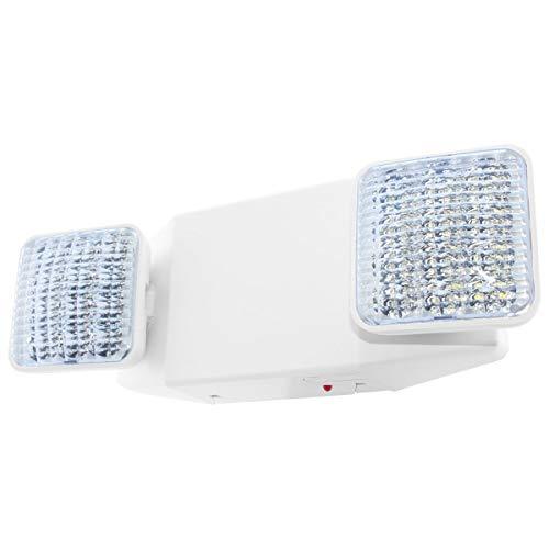 LFI Lights - Self Testing - UL Certified - Hardwired LED Emergency Egress Light - ELWST2