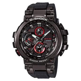 Casio Reloj Digital para Hombre de Cuarzo con Correa en Resina MTG-B1000B-1AER