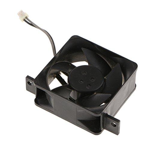 B Blesiya Ventilador de Refrigeración Interno de 48x35 Mm para Consola Wii