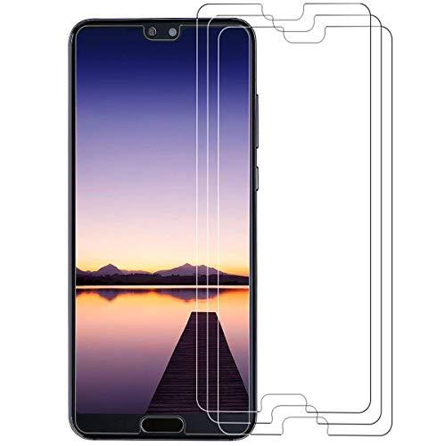 VICKSONGS (3Stück Schutzfolie für Huawei P20 Pro,[Ultra Clear] Displayschutzfolie (Nicht Glas) PET Soft Displayschutz [Anti-Bläschen][Anti-Fingerabdruck] Screen Protector für Huawei P20 Pro