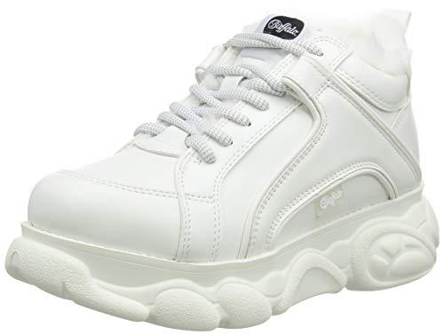 Buffalo Damen Corin Sneaker, Weiß (White 001), 37 EU