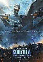 映画ポスター ゴジラ キングオブモンスターズ Godzilla King of the Monsters 24×35inc (61×89cm) US版 hi6 [並行輸入品]