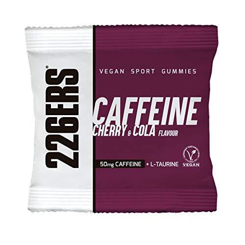 226ERS Vegan Sport Gummies, Gominolas Energéticas con Cafeína, Cherry Cola - 12 unidades