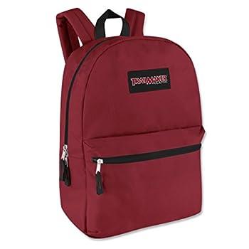 17  Trailmaker Backpack Bookbag  One Size Red  06