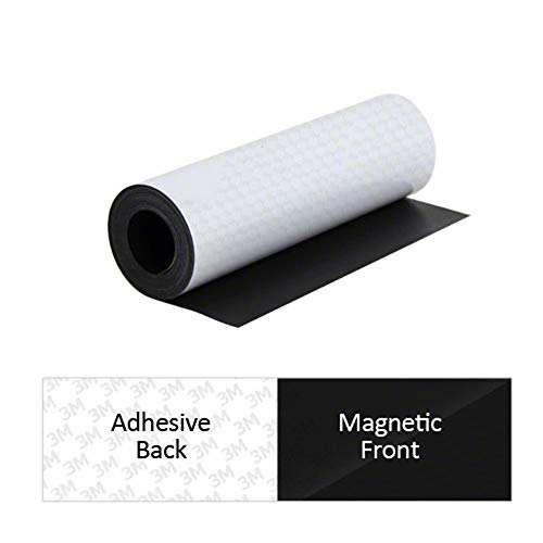 3M FS300A-1 Lámina magnética autoadhesiva, 300 x 0,85 mm