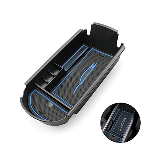 BIXUAN Scatola portaoggetti per Toyota a C-HR ZYX10/NGX50 per console centrale 2016-2020