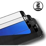 Aribest Galaxy S7 Panzerglas Schutzfolie, 2 Stück Panzerglasfolie für Samsung Galaxy S7 3D Full Coverage Panzerglas Ultra-Klar 9H Härte,Anti-Öl,Anti-Kratzen,Anti-Bläschen,3D Touch Kompatibel
