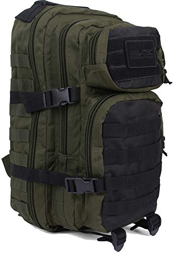 Zaino Militare US Assault Pack Small Ranger Miltec (Green/Black)