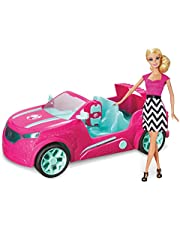 Barbie Cruiser Remote Control SUV RC Car 45cm with Lights and Sounds