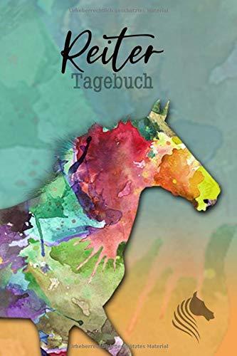 Reiter Tagebuch: Pferde Tagebuch | Reitertagebuch | Trainingstagebuch Pferd | Trainingsplan Pferde | XXL 400 Seiten | A5 | cremefarbenes Inlay