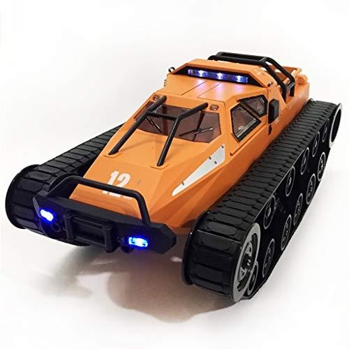 PBTRM 1:12 Coche Teledirigido, Coche Control Remoto 4WD RC Tanque Todoterreno Alta Velocidad 2,4 GHz, Vehículos Giratorios De 360 ° para Niños Y Adolescentes