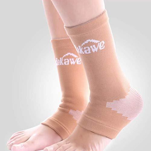 Enkelbescherming, sportbasketbal voetbal eifervoetbeschermer jas warm lopen A enkele voet sokken Breath Join