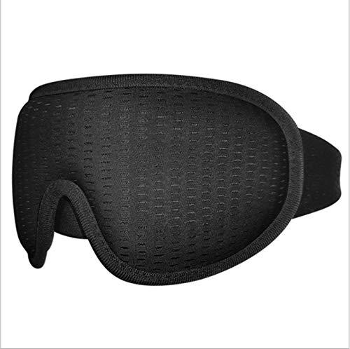 3D-Schlafmaske, Schlafmaske für Damen und Herren, super weich, verstellbare 3D-konturierte Augenmasken für Reisen/Nickerchen