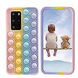 XYOUNG Coque pour Huawei Honor View 10 (6 pouces) Push Bubble Sensory Fidget Toy Case Release Stress...
