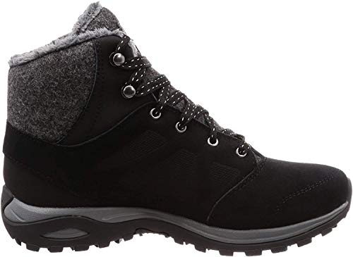 Salomon Damen Winterschuhe, ELLIPSE FREEZE CS WP, Farbe: Schwarz (Black/Phantom/Beach Glass), Größe: 39 1/3