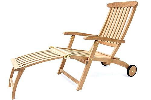 Villeroy & Boch - Deckchair Sunrise - klappbar - aus 100{a5166a3291014788113c6ae5372e21e2798b8452e309f7f1705d481331293422} Teakholz