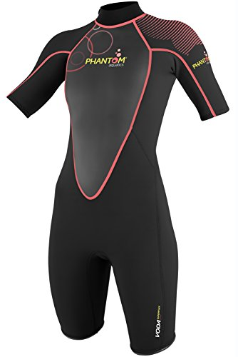 Phantom Aquatics Dames Voda Premium Shorty Wetsuit