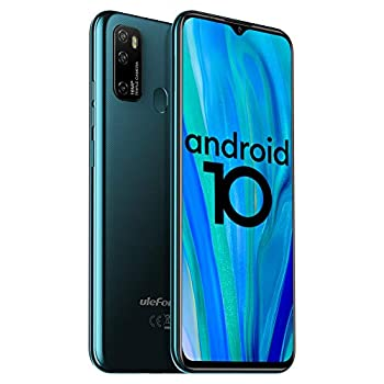 Unlocked Smartphones Ulefone Note 9P  2020  Android 10 Unlocked Cell phones Triple Rear Camera Triple Card Slots 6.52  Waterdrop Full-Screen Dual SIM Phones 4500mAh Global Bands US Version - Green