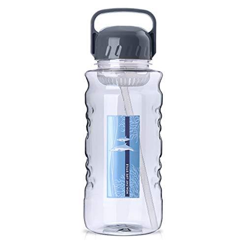 Tetera Gran capacidad de 51 oz / 68 oz jarra de agua, manija portable, de gran tamaño, de plástico, botellas de fugas a prueba de Deportes de fitness / Actividad al aire libre Tetera Eléctrica